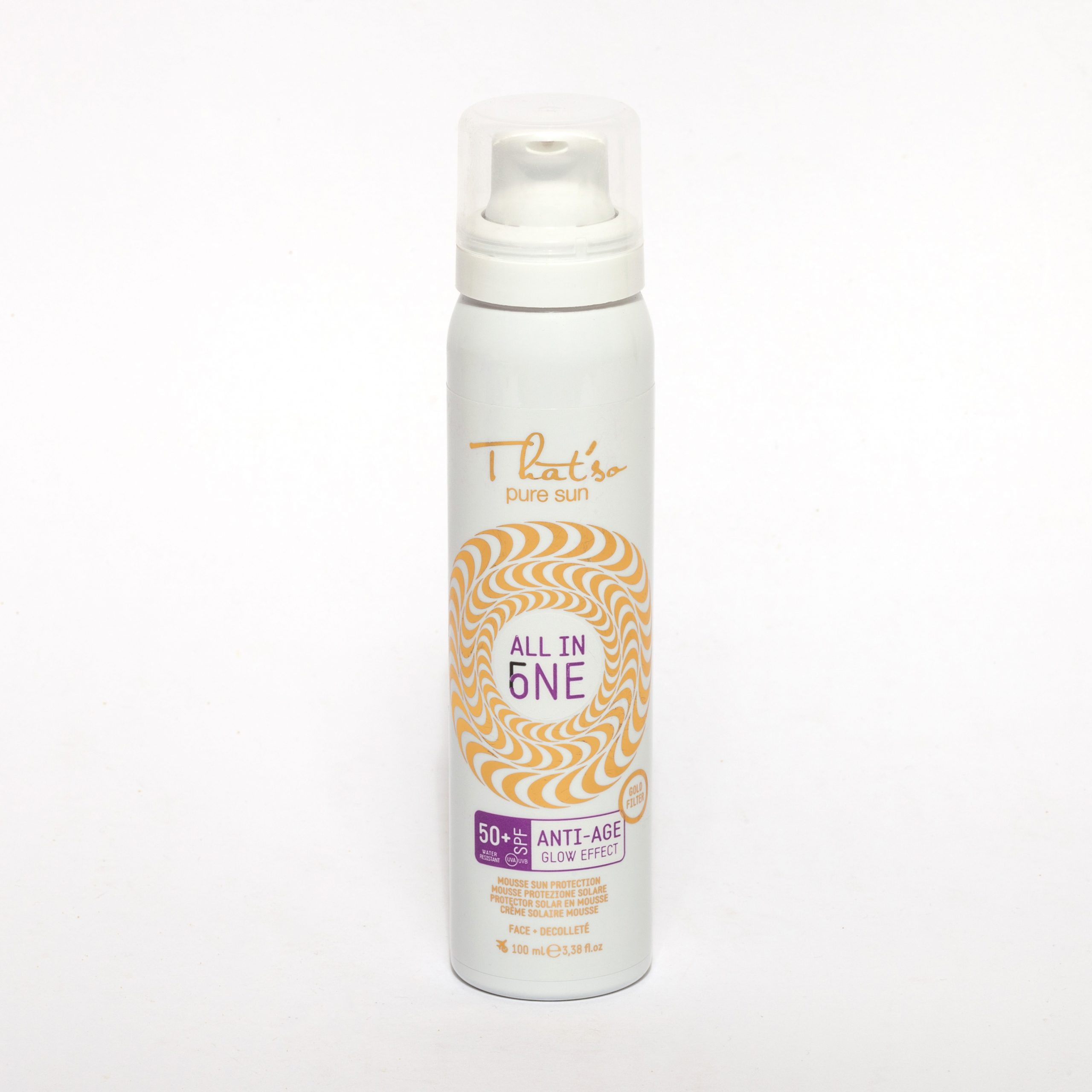 ALL IN ONE LSF 50+ ANTI-AGE-MOUSSE
